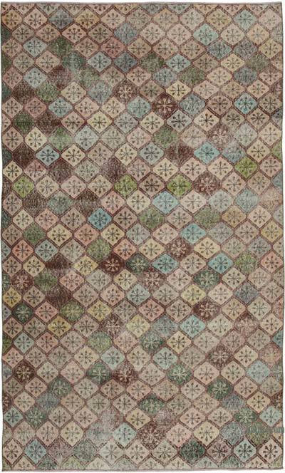 "Retro Vintage Area Rug - 5' 7"" x 9' 4"" (67 in. x 112 in.)"