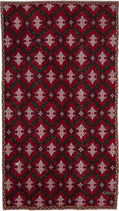 "Retro Vintage Area Rug - 5' 8"" x 10'  (68 in. x 120 in.)"