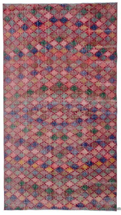 "Turkish Vintage Rug - 5' 2"" x 9' 5"" (62 in. x 113 in.)"