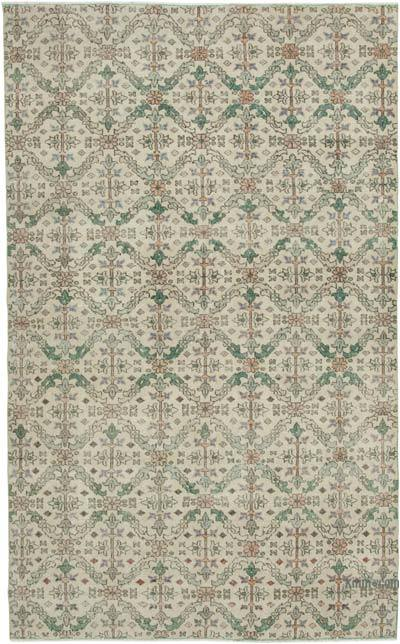 "Retro Vintage Area Rug - 6' 2"" x 10' 1"" (74 in. x 121 in.)"