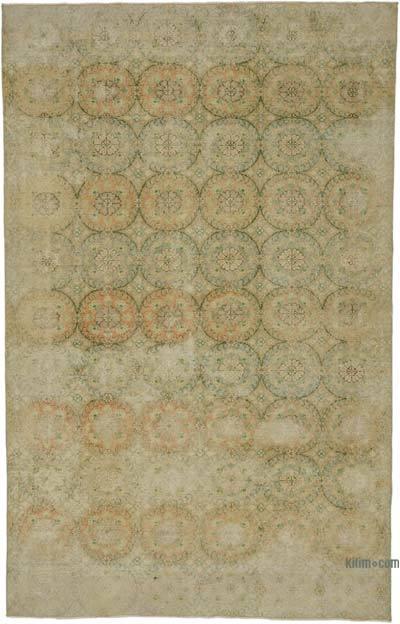 El Dokuma Vintage Halı - 183 cm x 291 cm