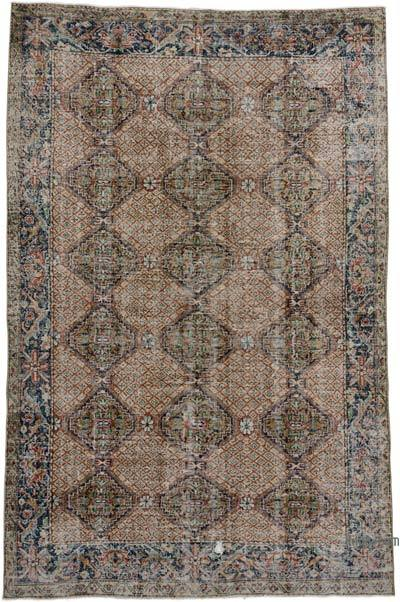 "Turkish Vintage Rug - 6' 2"" x 9' 5"" (74 in. x 113 in.)"