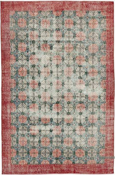 "Retro Vintage Area Rug - 5'  x 7' 10"" (60 in. x 94 in.)"