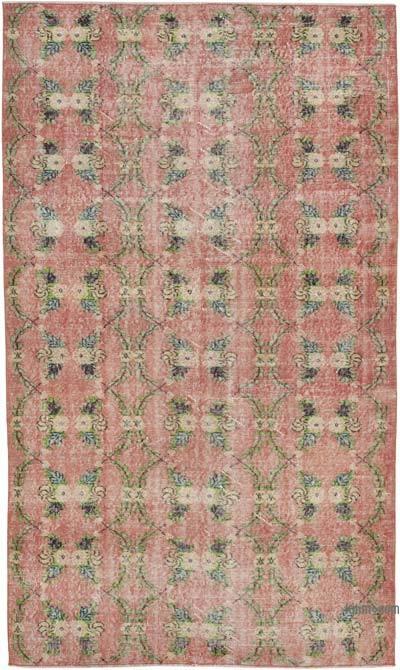 El Dokuma Vintage Halı - 156 cm x 265 cm