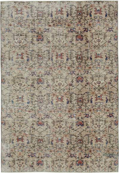 "Turkish Vintage Rug - 6' 4"" x 9' 3"" (76 in. x 111 in.)"