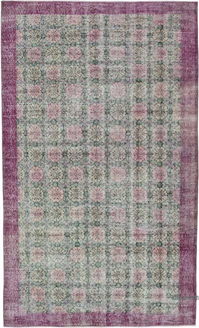 "Retro Vintage Area Rug - 4' 10"" x 8'  (58 in. x 96 in.)"