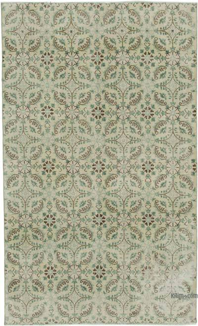 "Retro Vintage Area Rug - 4' 11"" x 8' 2"" (59 in. x 98 in.)"