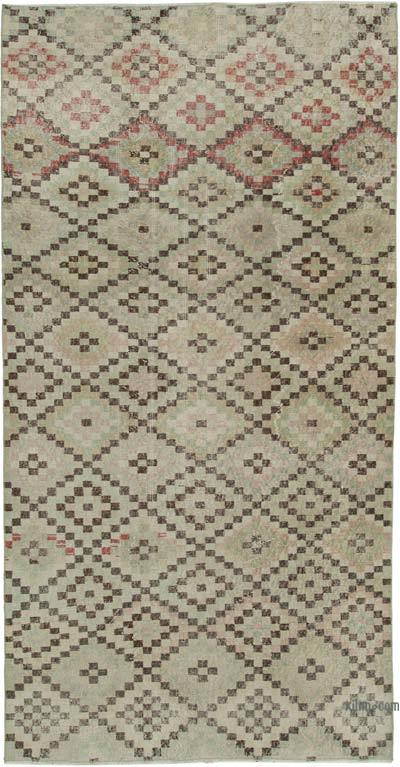 "Turkish Vintage Rug - 4' 2"" x 8' 6"" (50 in. x 102 in.)"
