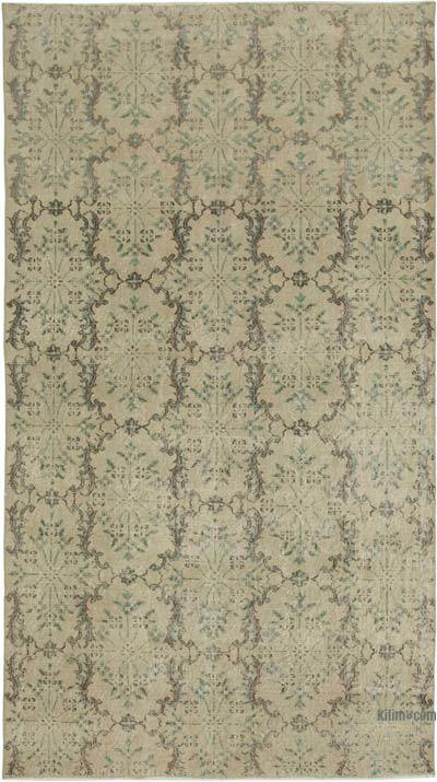 "Retro Vintage Area Rug - 5'  x 8' 11"" (60 in. x 107 in.)"