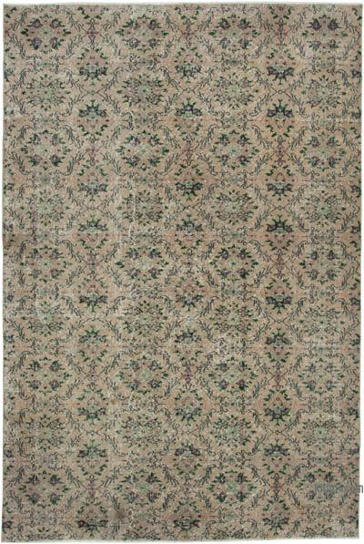 "Turkish Vintage Rug - 6' 1"" x 9' 2"" (73 in. x 110 in.)"