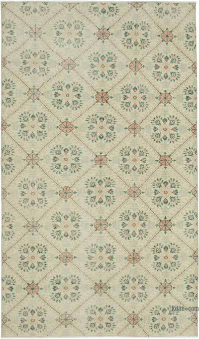 "Retro Vintage Area Rug - 4' 10"" x 8' 3"" (58 in. x 99 in.)"