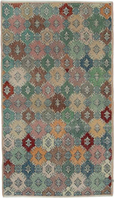 "Turkish Vintage Rug - 4'7"" x 7'10"" (55 in. x 94 in.)"