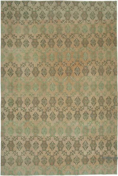 El Dokuma Vintage Halı - 195 cm x 287 cm