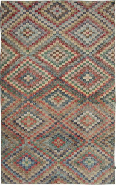 "Retro Vintage Area Rug - 6' 3"" x 9' 11"" (75 in. x 119 in.)"