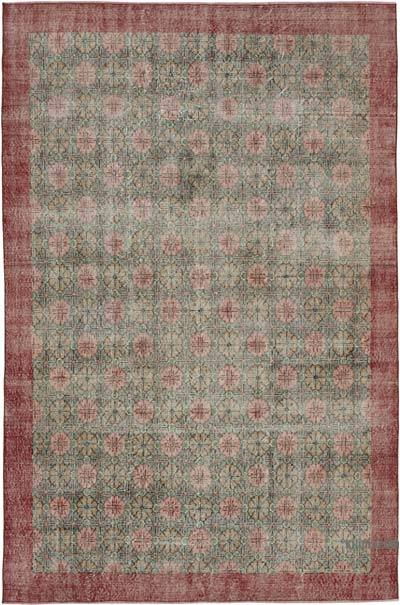 "Turkish Vintage Rug - 6' 8"" x 10' 2"" (80 in. x 122 in.)"