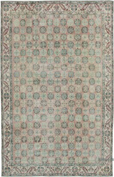 "Turkish Vintage Rug - 6' 1"" x 9' 7"" (73 in. x 115 in.)"