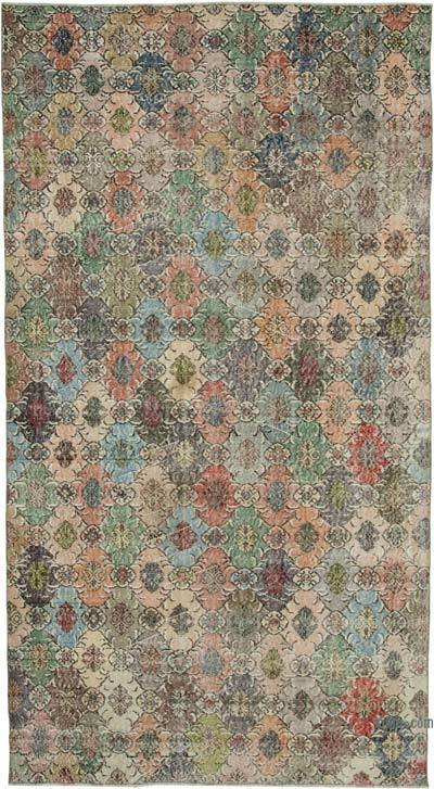 "Retro Vintage Area Rug - 5' 10"" x 10' 8"" (70 in. x 128 in.)"