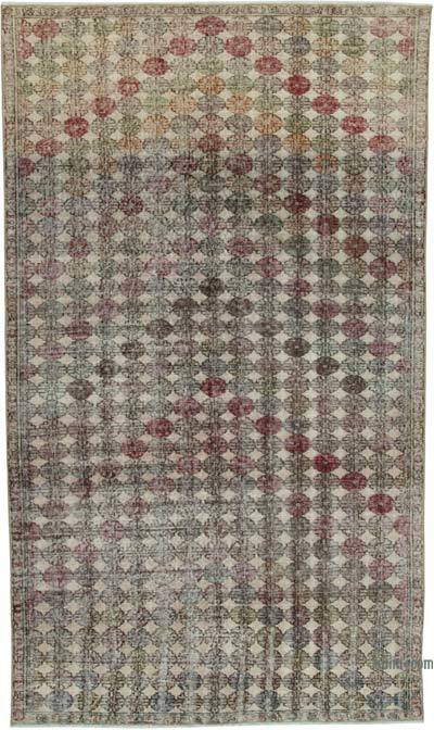 "Turkish Vintage Rug - 5' 7"" x 9' 7"" (67 in. x 115 in.)"