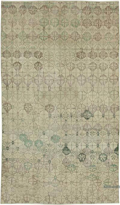 "Retro Vintage Area Rug - 5' 3"" x 9' 1"" (63 in. x 109 in.)"