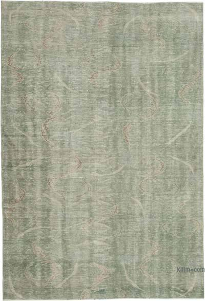 """Vintage Turkish Hand-Knotted Rug - 6'  x 8' 10"""" (72 in. x 106 in.)"""