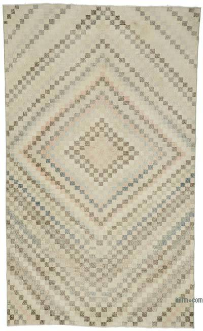 El Dokuma Vintage Halı - 178 cm x 304 cm