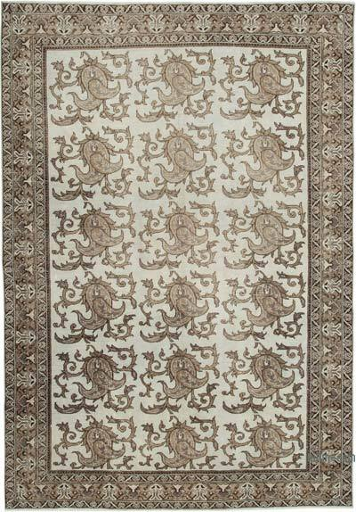 "Turkish Vintage Rug - 6'8"" x 9'6"" (80 in. x 114 in.)"