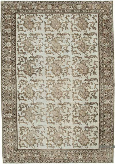 "Turkish Vintage Rug - 6' 9"" x 9' 8"" (81 in. x 116 in.)"