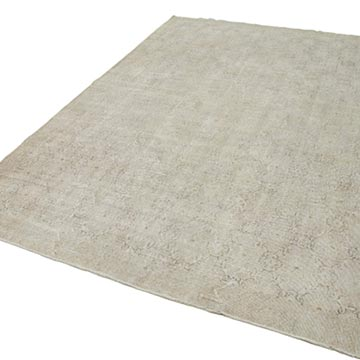 """Vintage Turkish Hand-Knotted Rug - 6' 9"""" x 10' 3"""" (81 in. x 123 in.) - K0038266"""