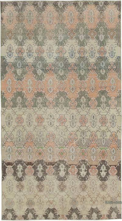 "Turkish Vintage Rug - 5' 4"" x 9' 8"" (64 in. x 116 in.)"