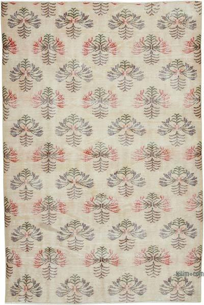 "Retro Vintage Area Rug - 5' 8"" x 8' 6"" (68 in. x 102 in.)"