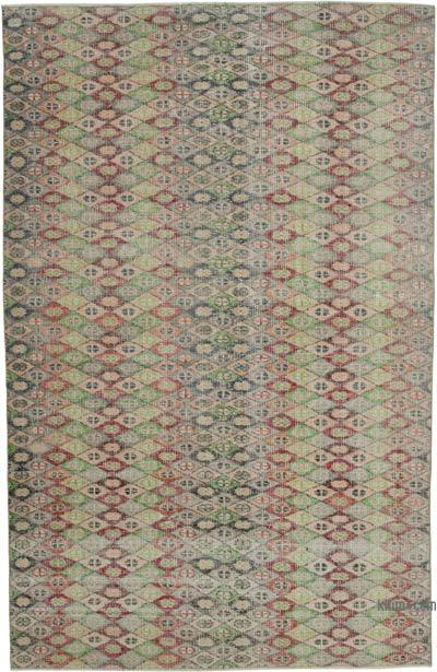 "Retro Vintage Area Rug - 6'  x 9' 3"" (72 in. x 111 in.)"