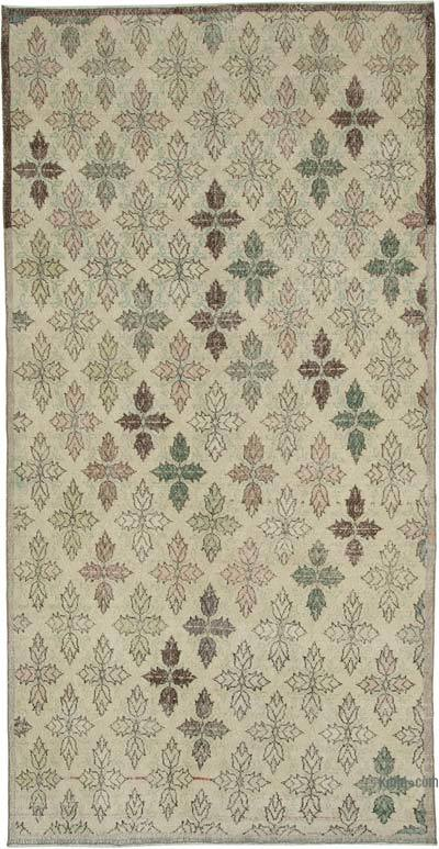 "Retro Vintage Area Rug - 5' 1"" x 10' 2"" (61 in. x 122 in.)"