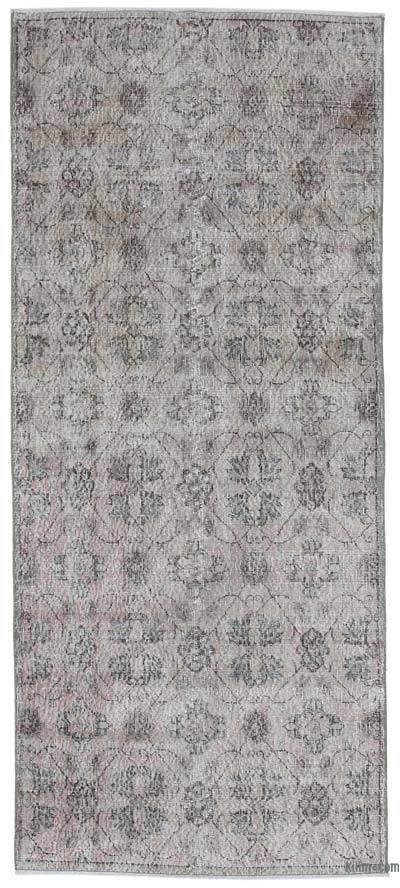 El Dokuma Vintage Halı - 116 cm x 270 cm