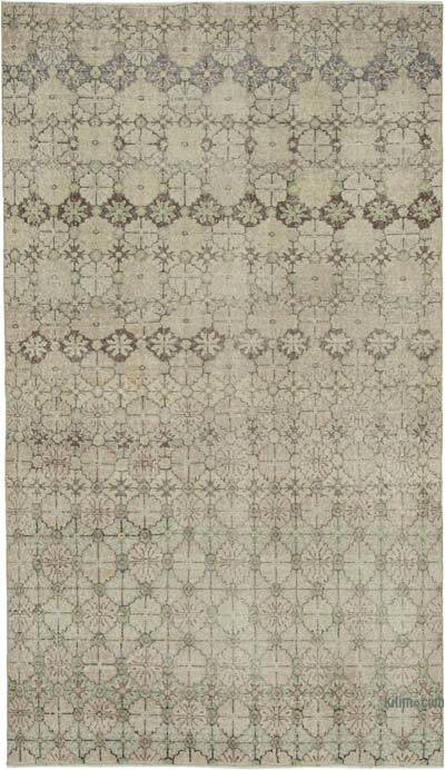 "Retro Vintage Area Rug - 5' 4"" x 9' 5"" (64 in. x 113 in.)"