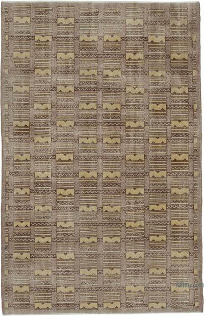 "Turkish Vintage Rug - 6' 8"" x 10' 4"" (80 in. x 124 in.)"