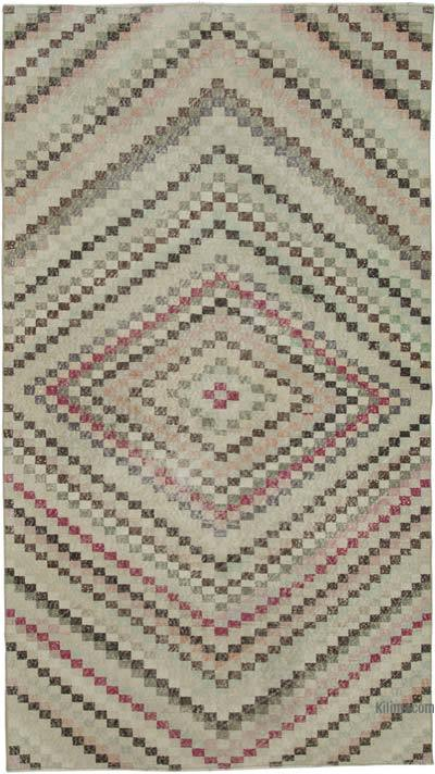 "Turkish Vintage Rug - 5' 5"" x 9' 8"" (65 in. x 116 in.)"
