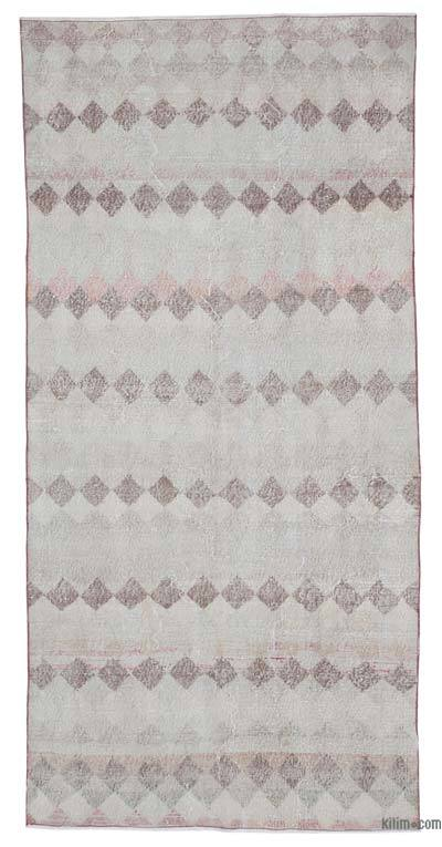 "Retro Vintage Area Rug - 4' 4"" x 8' 11"" (52 in. x 107 in.)"