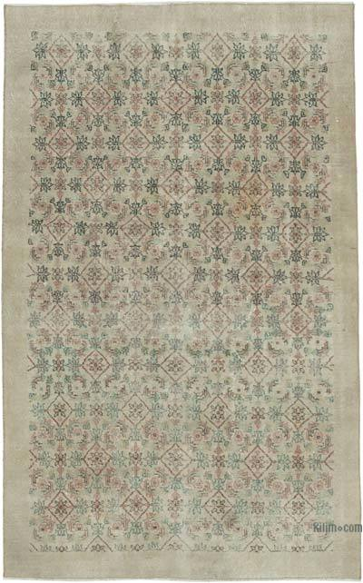 "Turkish Vintage Rug - 4' 8"" x 7' 9"" (56 in. x 93 in.)"