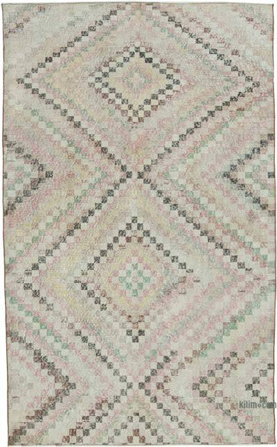 "Turkish Vintage Rug - 5' x 8'3"" (60 in. x 99 in.)"