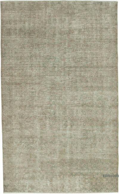 """Vintage Turkish Hand-Knotted Rug - 5' 2"""" x 8' 7"""" (62 in. x 103 in.)"""