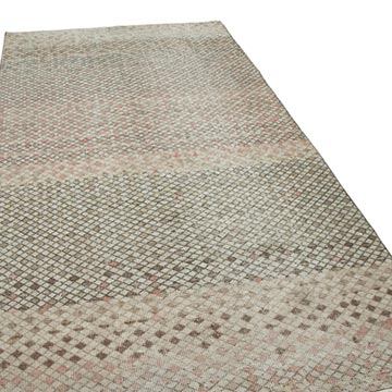 """Vintage Turkish Hand-Knotted Rug - 4' 6"""" x 9' 1"""" (54 in. x 109 in.) - K0038329"""