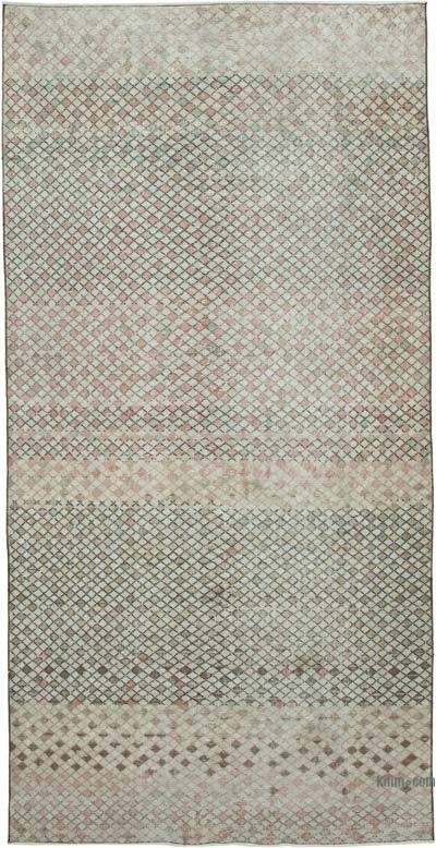 """Vintage Turkish Hand-Knotted Rug - 4' 6"""" x 9' 1"""" (54 in. x 109 in.)"""
