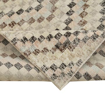 """Vintage Turkish Hand-Knotted Rug - 5' 4"""" x 9' 10"""" (64 in. x 118 in.) - K0038330"""