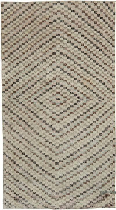 El Dokuma Vintage Halı - 163 cm x 300 cm