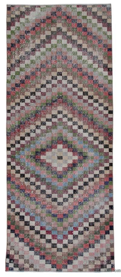 "Turkish Vintage Rug - 3'3"" x 7'9"" (39 in. x 93 in.)"