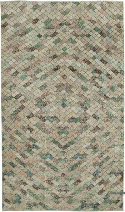 "Turkish Vintage Rug - 5' 4"" x 9' 2"" (64 in. x 110 in.)"