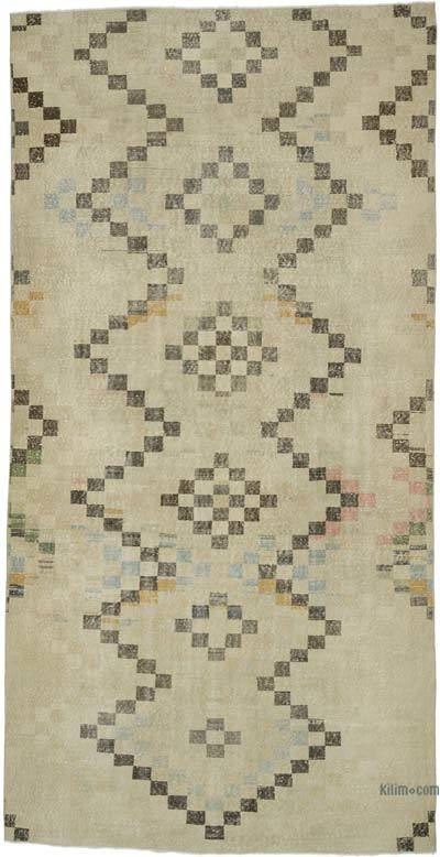 "Turkish Vintage Rug - 5' 9"" x 11' 6"" (69 in. x 138 in.)"