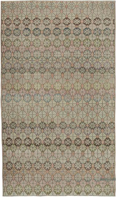 "Retro Vintage Area Rug - 6' 1"" x 10' 6"" (73 in. x 126 in.)"