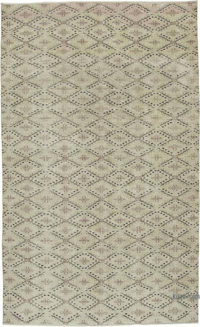 Retro Vintage Area Rug - 6'  x 10'  (72 in. x 120 in.)