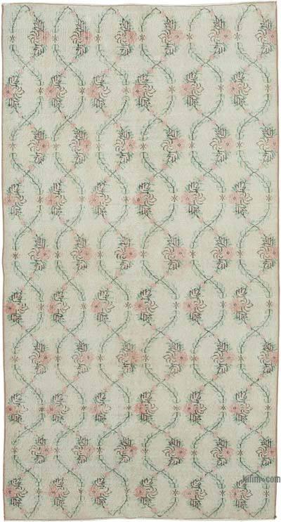 El Dokuma Vintage Halı - 141 cm x 267 cm